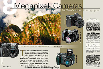 8-Megapixel Cameras For The Outdoor Photographer