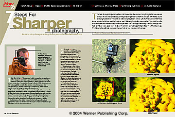7 Steps For Sharper Photography