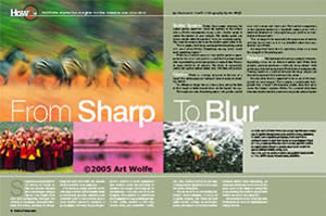 From Sharp To Blur