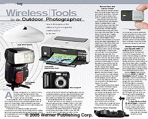 Wireless Tools For The Outdoor Photographer