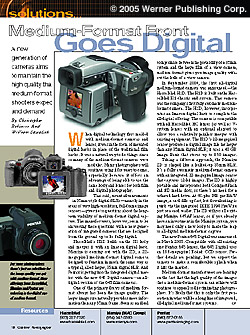 Medium-Format Front Goes Digital