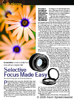 Selective Focus Made Easy