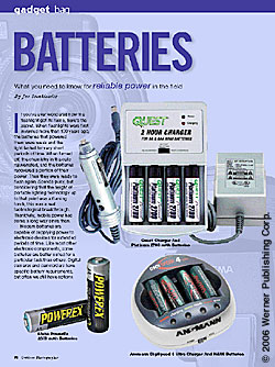 Gadget Bag: Batteries