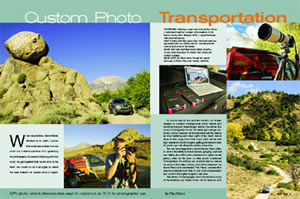 Custom Photo Transportation