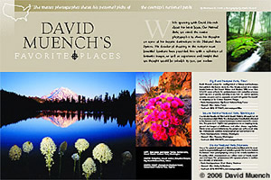 David Muench's Favorite Places