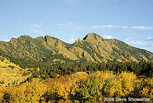 Boulder's Flatirons, Colorado - Outdoor Photographer