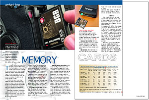 Gadget Bag: Memory Cards