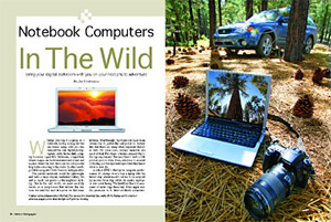 nootbook computers in the wild