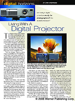 Living With A Digital Projector