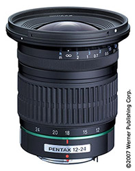 wide-angle zoom lenses - pentax and samsung