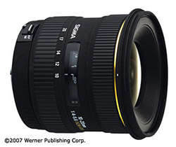 wide-angle zoom lenses - sigma