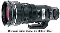 Olympus Zuiko Digital ED 300mm ƒ/2.8