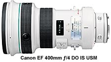 Canon EF 400mm ƒ/4 DO IS USM