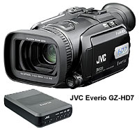 JVC Everio GZ-HD7