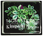 Kingston CF Elite Pro CompactFlash
