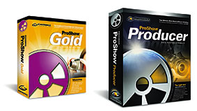 Photodex ProShow Gold and ProShow Producer