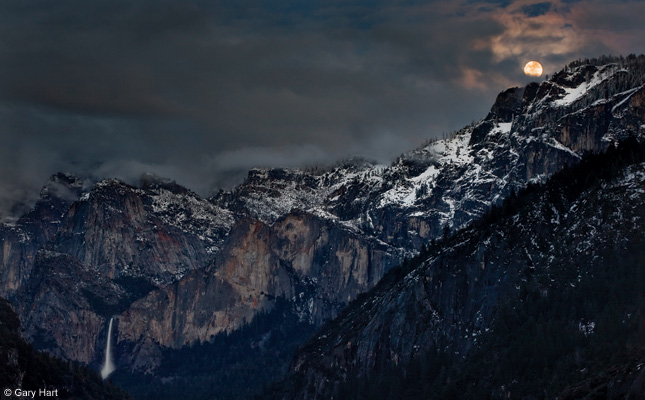 Yosemite National Park - night photography tips