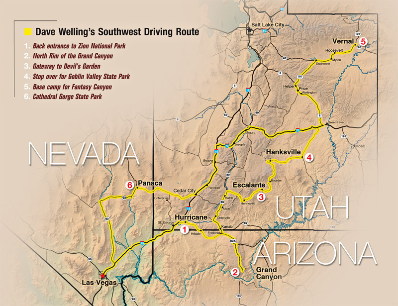 Southwest Road Trip  Outdoor Photographer