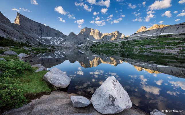 A Trek In The Wind River Range