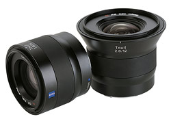 Zeiss Touit lenses
