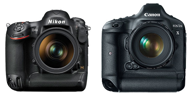 Nikon and Canon wildlife photography gear