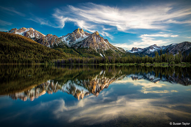 Stanley Lake, Sawtooth National Forest, Idaho
