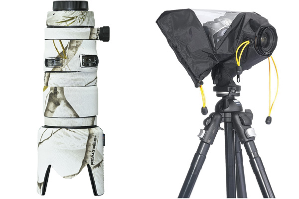 photography gear covers - winter photography gear