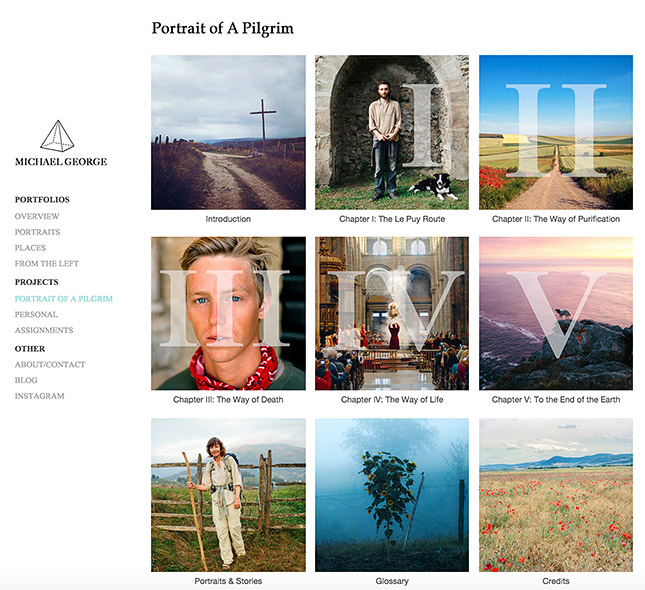 Featured Format Portfolio: Michael George