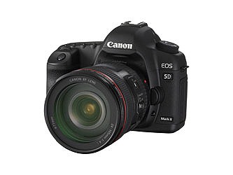 New Canon EOS 5D Mark II
