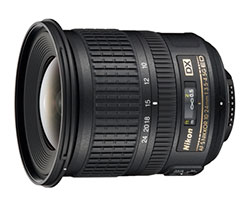 Nikon Introduces 10-24mm