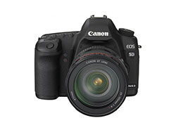 Upcoming EOS 5D Mark II DSLR Camera Firmware