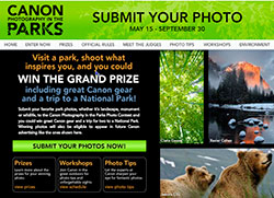 Canon's Photography in the Parks Photo Contest