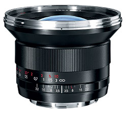 Zeiss Distagon T* 3,5/18 lens for Canon