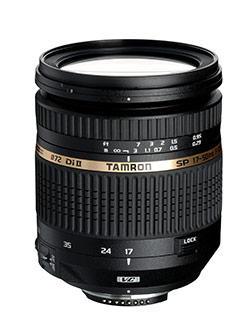 Tamron Launches Fast SP AF17-50mm f/2.8 lens