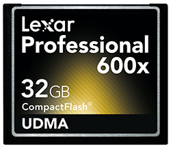 Lexar Professional Cards Now Available
