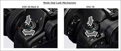 Canon Offers Locking Mode Dial