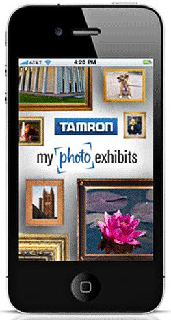 Tamron MyPhotoExhibits App for iPad