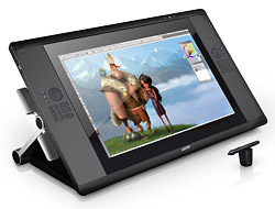 Wacom Cintiq 24HD touch and Cintiq 22HD