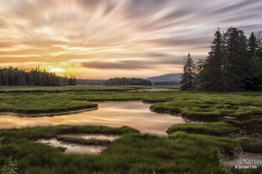 """""""Bass Harbor Marsh Sunset"""" By James Day"""