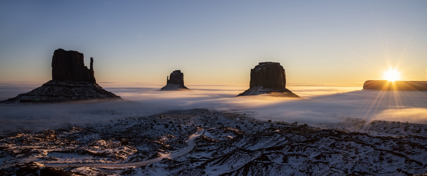 Majestic Monument Valley by Alisa Zuniga