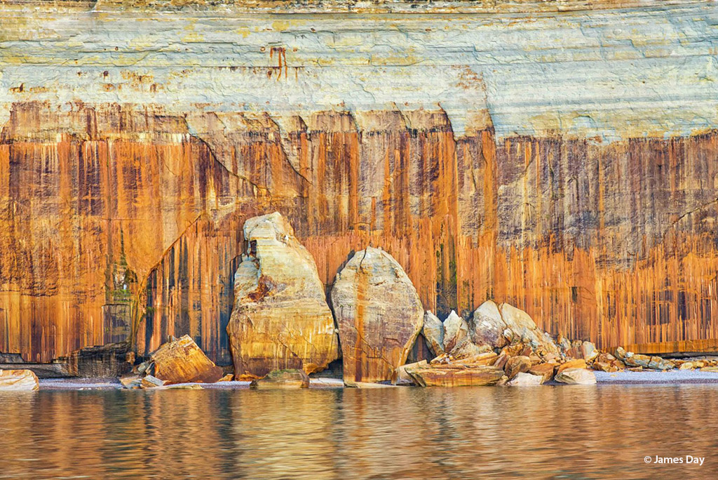 """""""Pictured Rock"""" by James Day"""