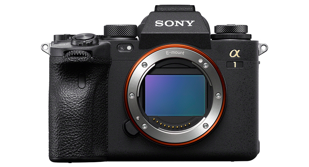 Sony Alpha 1 Slideshow: Camera Front