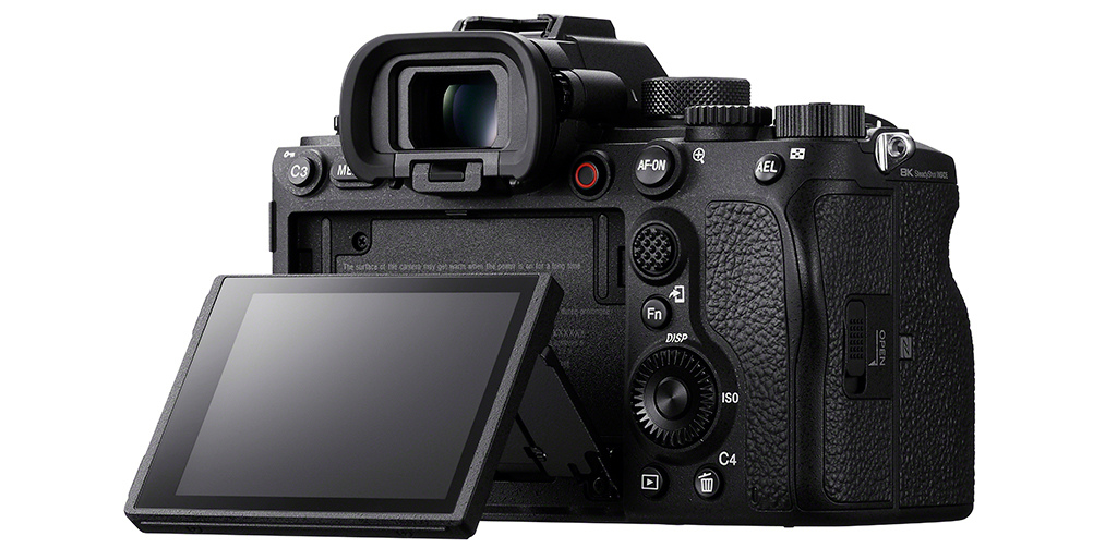 Sony Alpha 1 Slideshow: Tilting LCD