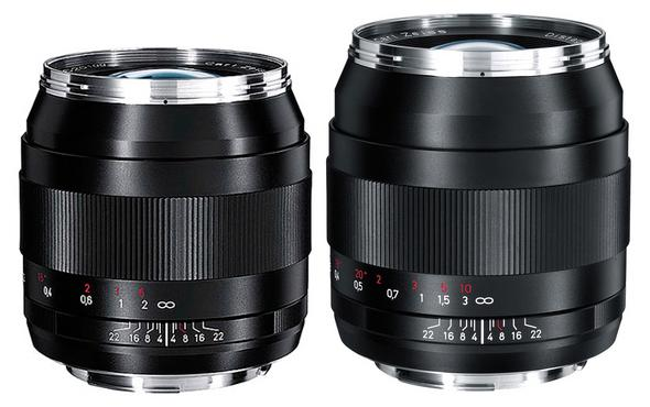 Carl Zeiss 28mm f2 and 35mm f2 ZE lenses