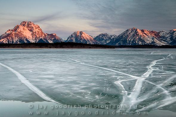 Sunrise Over Mount Moran, Grand Teton National Park