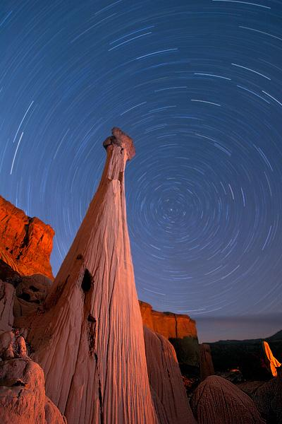Wahweap-Towers-of-Silence-stars