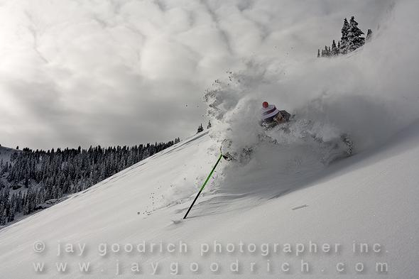 Skiing the Vail Backcountry, Vail Colorado by Jay Goodrich