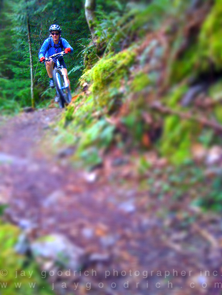 Mountain Biking in the Pacific Northwest by Jay Goodrich