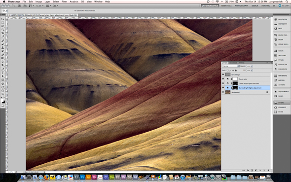 The Painted Hills Further Processed with Photoshop CS5 by Jay Goodrich