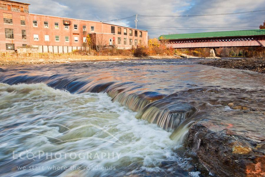The Ashuelot River in West Swanzey, New Hampshire.